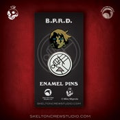 Image of Hellboy/B.P.R.D.: Limited Edition Kate Corrigan & B.P.R.D. Logo set!