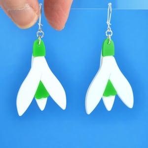 Image of Snowdrop Earrings