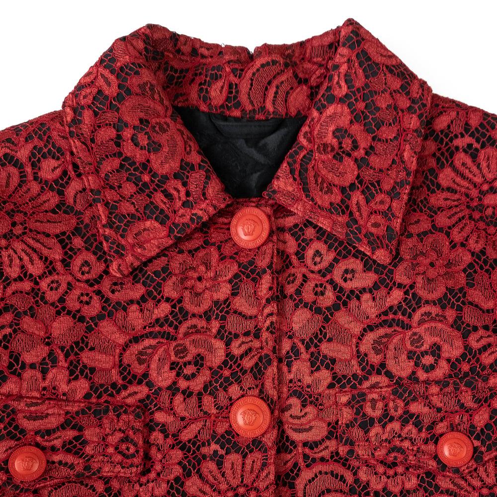Image of Gianni Versace 1994 Lace Jacket