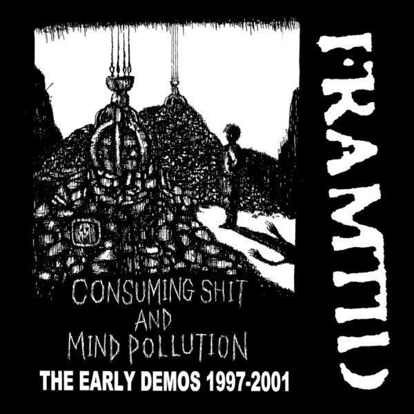 """FRAMTID """"Consuming Shit And Mind Pollution"""" LP"""