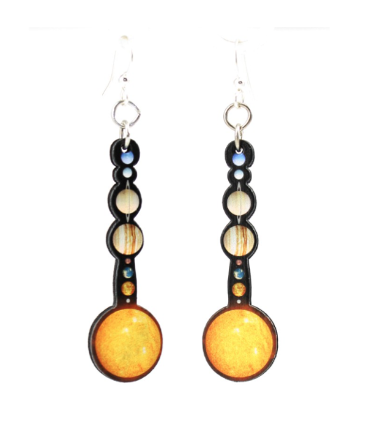 Image of Solar System Earrings