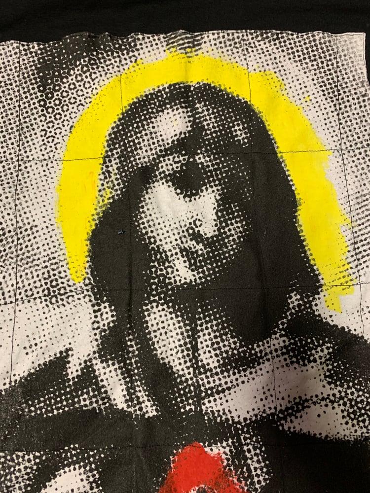 Image of Dot Screen Madonna Long Sleeve Shirt
