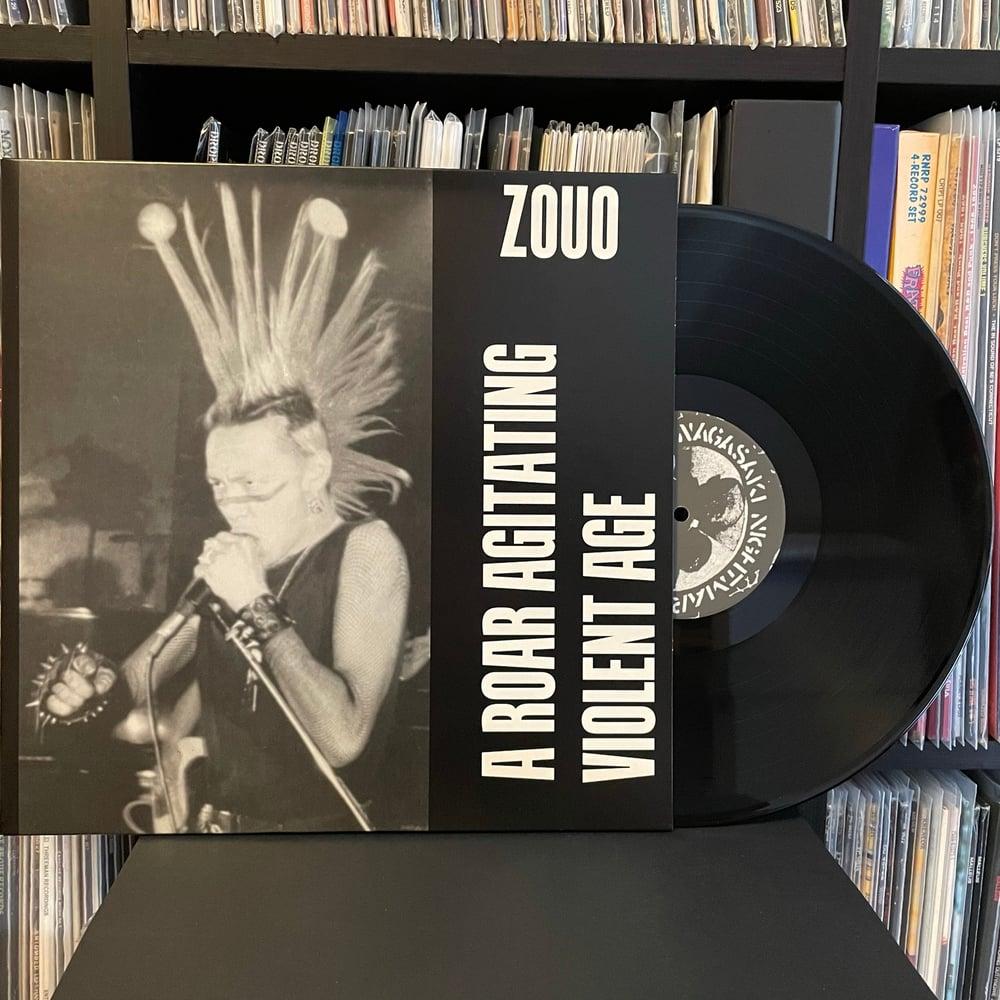 """ZOUO """"A Roar Agitating Violent Age"""" LP"""