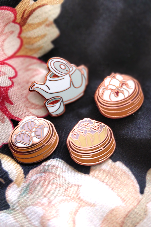Lucky Chinese Dimsum | Enamel Pins