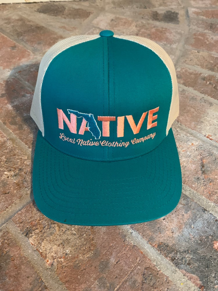 Image of Florida Native Trucker Hat (color collection 2)