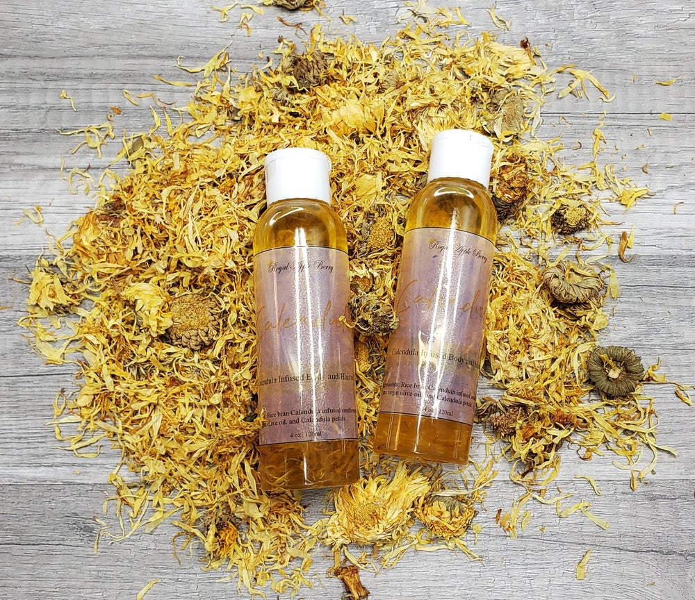 Image of CALENDULA BODY AND HAIR OIL