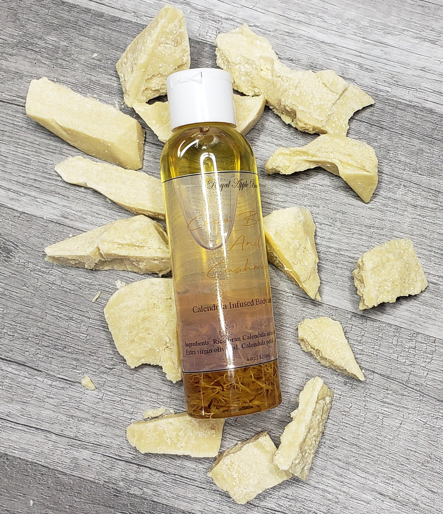 Image of COCOA BUTTER AND CASHMERE BODY OIL