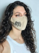 "Image of ""Willow Tree"" grp Reusable, Antimicrobial Mask"