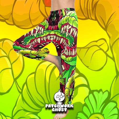 Image of In Bloom All Over Print Harem Pants