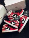 "Air Jordan 1 Mid ""Gym Red / Black"""