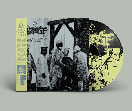 "INZEST ""Violence Not Words 1987-1988"" LP"