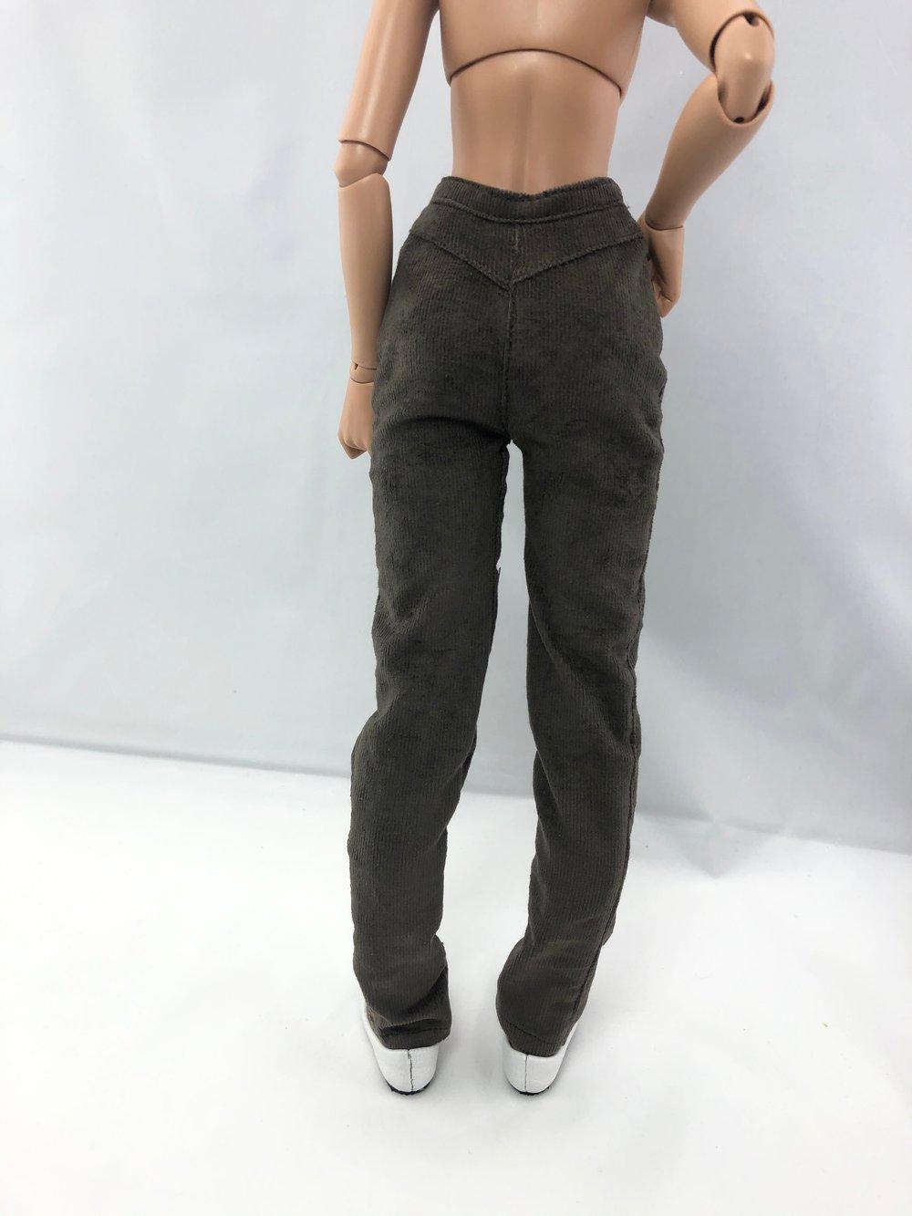 *Damaged* Gray Corduroy Pants