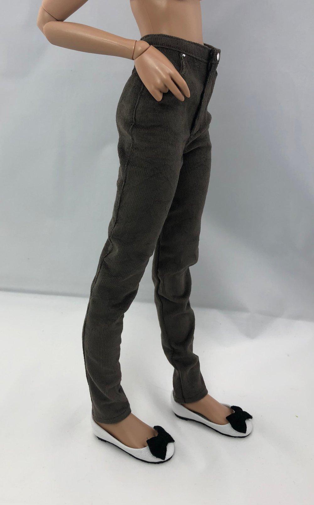 Gray Corduroy Pants: Minifee