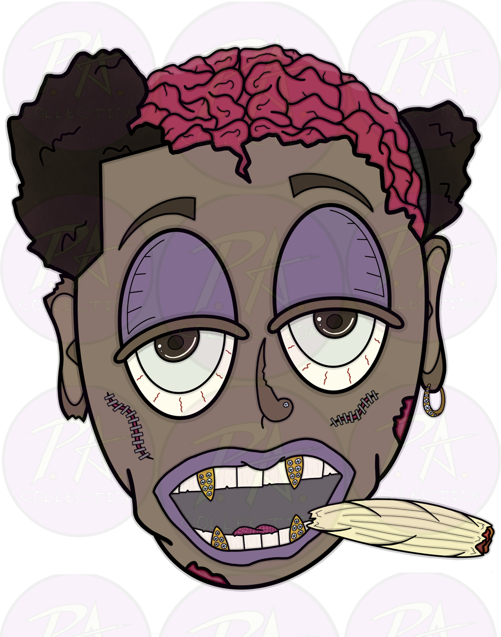 Image of Stoned (Graphic Artwork)
