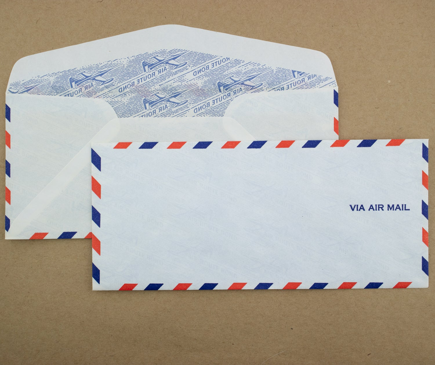 Vintage Air Mail Envelopes (Size No. 9/Pack of 10)
