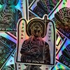 John the Baptist- Speak Truth to Power Sticker