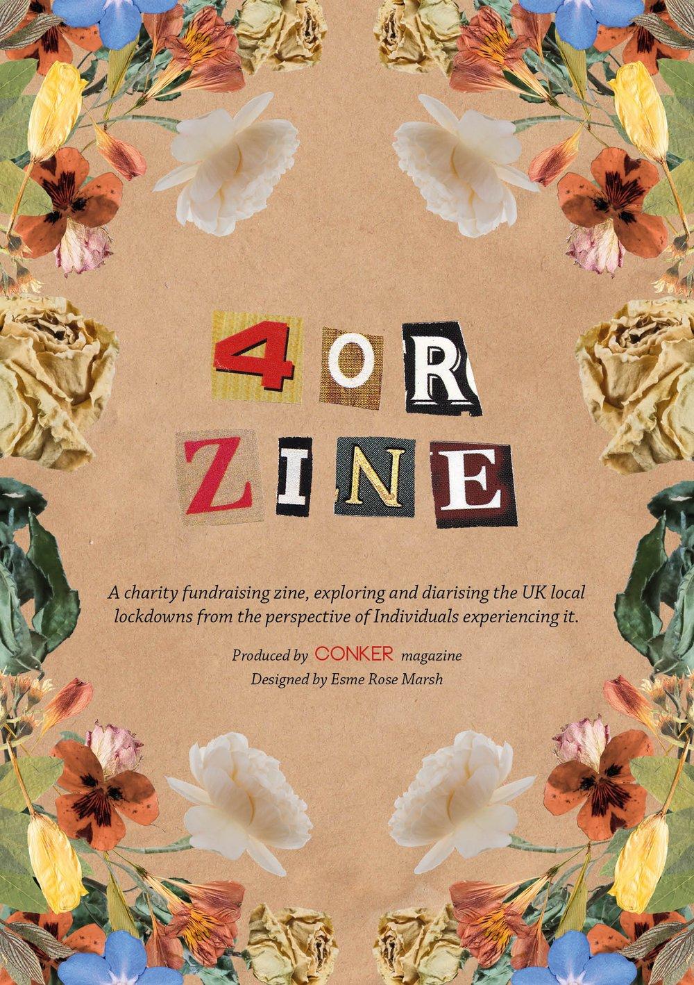 Image of 4or Zine ~ Fundraising Lockdown zine