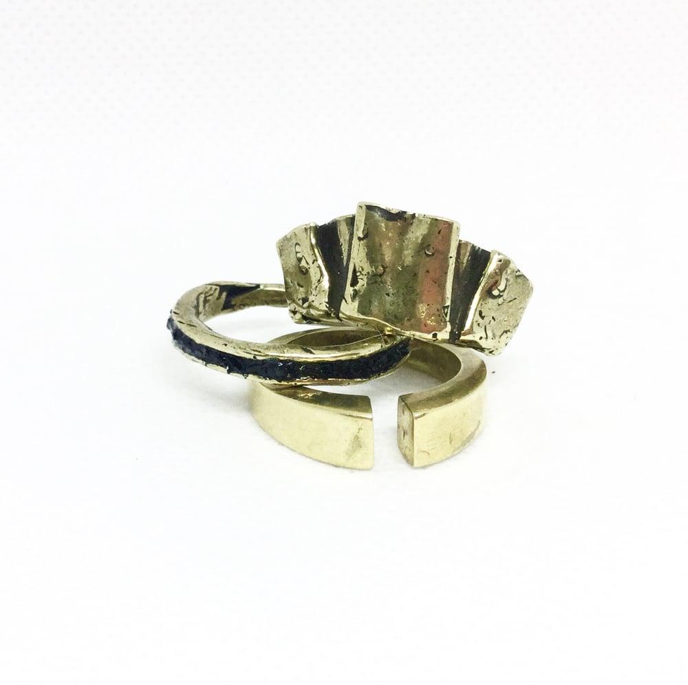 Image of Stone Inlay ring