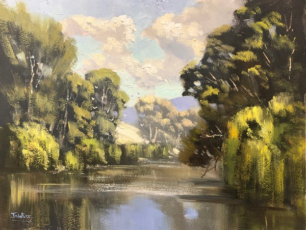 Image of Tranquil Afternoon On The Macquarie River