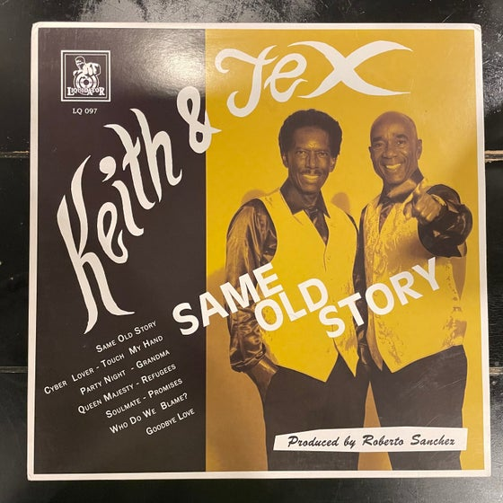 Image of Keith and Tex - Same Old Story Vinyl LP