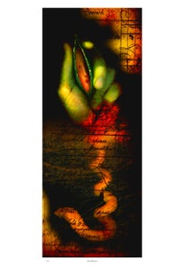 Image of Print: Handflower
