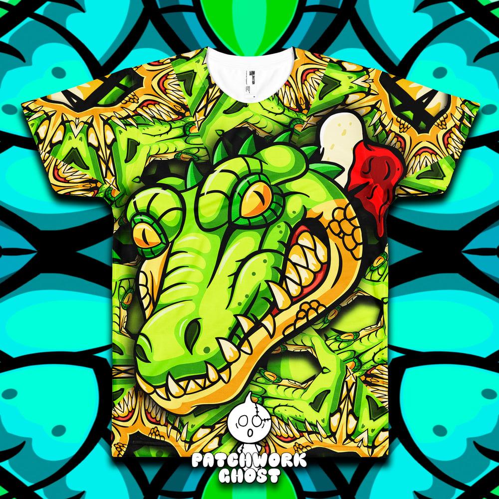 Image of Later Gator All Over Print Shirt