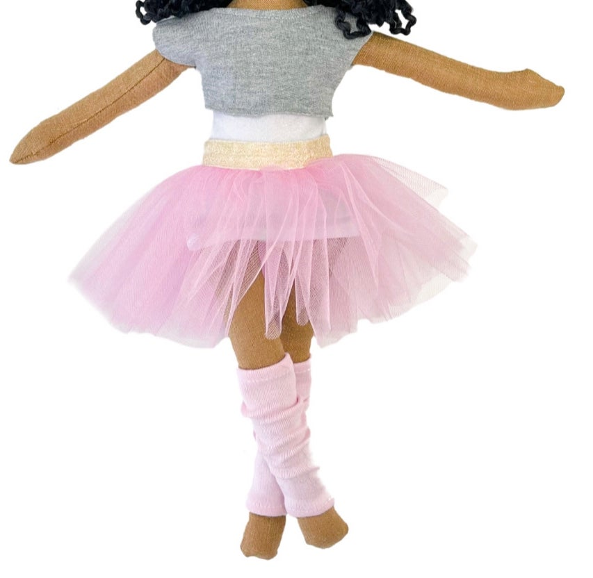 4pc Ballet outfit - Doll Accessory (SHIP DATE: ON OR BEFORE JULY 1ST)