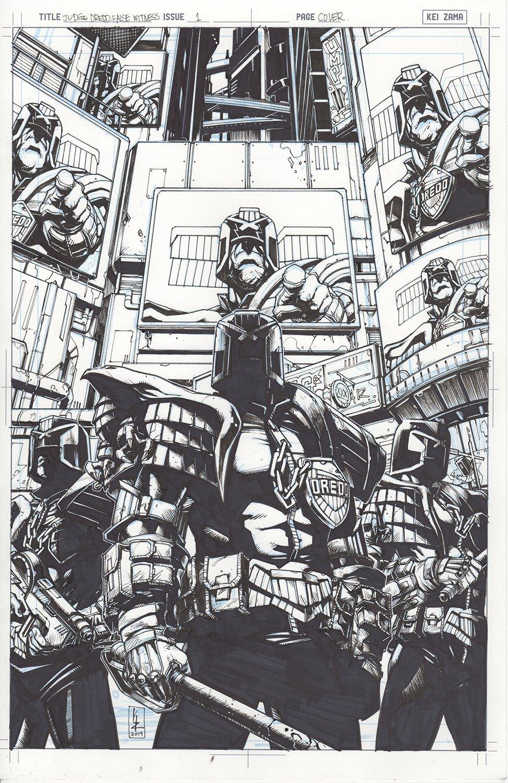 Judge Dredd: False Witness #1 Cover
