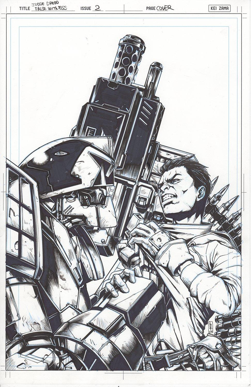 Judge Dredd: False Witness #2 Cover