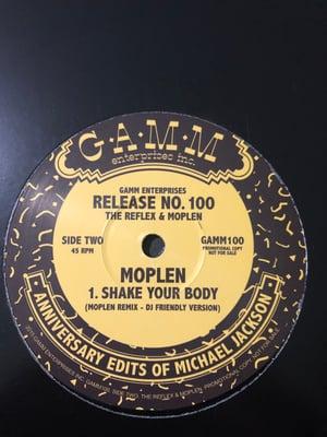 Image of Moplen - Shake your body (Moplen remix - DJ friendly version) - GAMM Enterprises