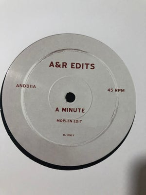 Image of A minute - Moplen edit (A&R Edits)