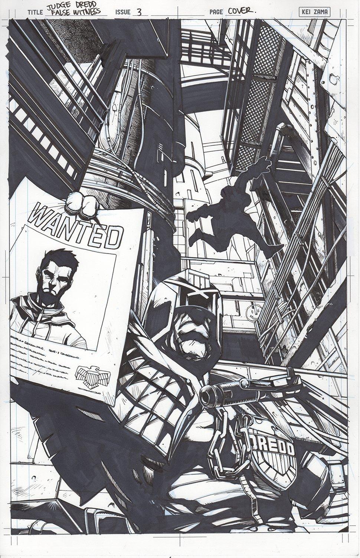 Judge Dredd: False Witness #3 Cover