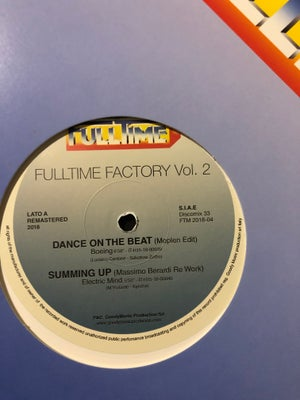 Image of Boeing - Dance on the beat (Moplen edit) - Full-time Factory Vol. 2