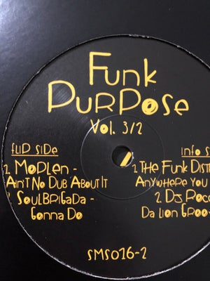 Image of Moplen - Ain't no dub about it (Funk Purpose Vol. 3/2)