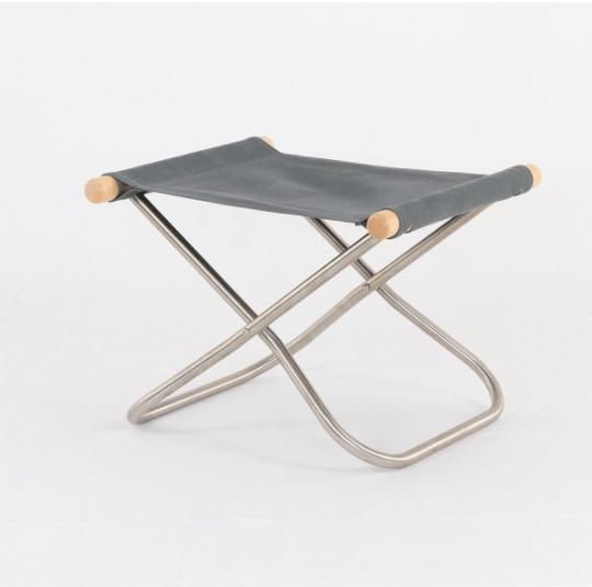 Image of NY Folding Chair X Ottoman - Takeshi Nii Nychair X  - Natural