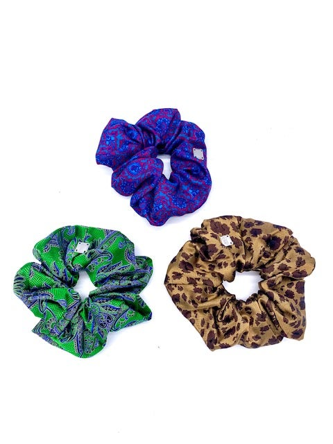 Image of Silk Barrettes and Scrunchies