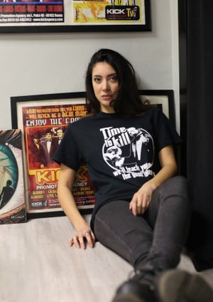 """Image of Time To Kill Records Official T-shirt """"THE GODFATHER"""""""