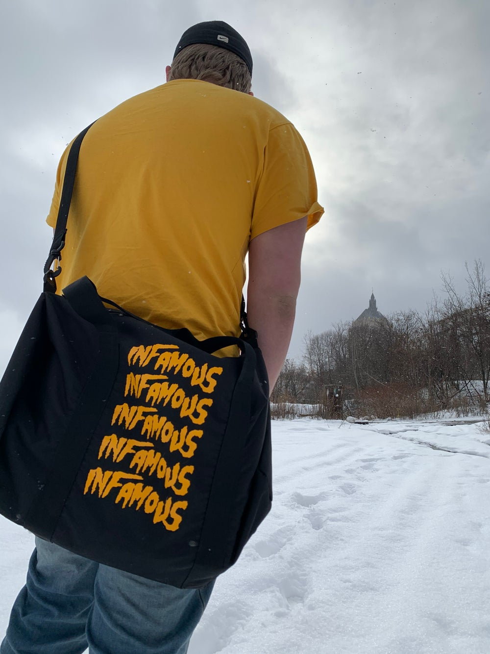 "Image of ""CINCO"" Duffel Bag"