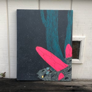 Image of Giant Crystal Painting