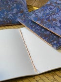 Marbled Notebook Shades of Blue Collection