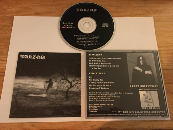 Image of Burzum 1st album VOW