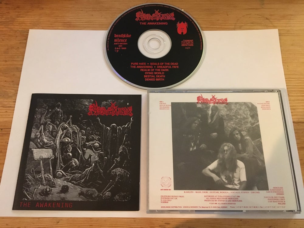 Image of Merciless 2nd press DSP