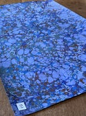 Shades of Blue Collection Marbled Paper II 1/2 sheets