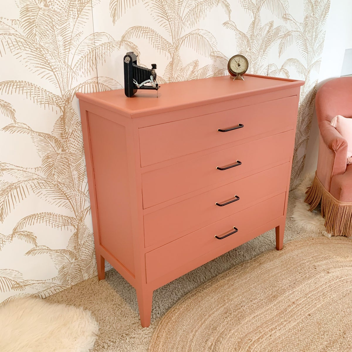 Image of Commode Brique Gold