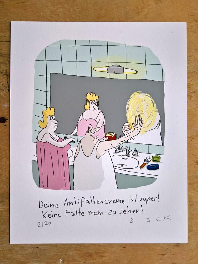 Image of Antifalten-creme - Print