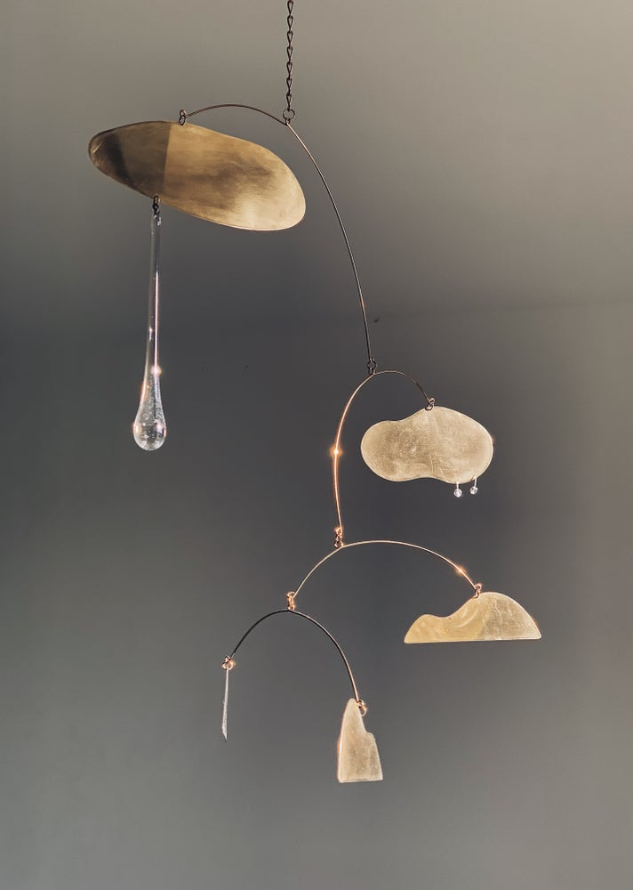 Image of Brass Kinetic Sculpture 008
