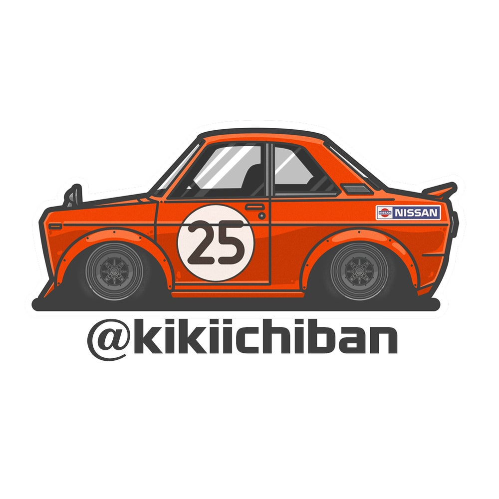 Image of 510 Bubble cut Sticker