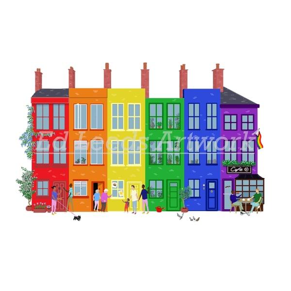 Image of Pride Greetings Card (single)