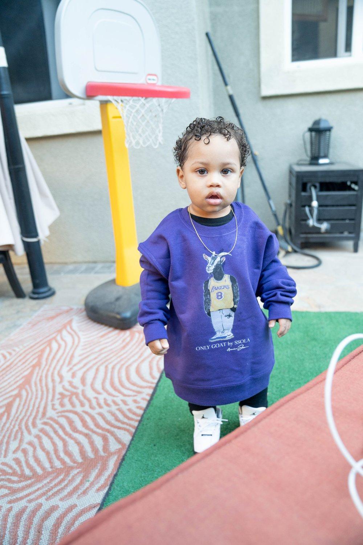 Image of KIDS GOAT CREW