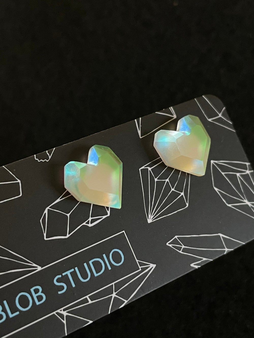 Image of Potion Lux Heart Studs